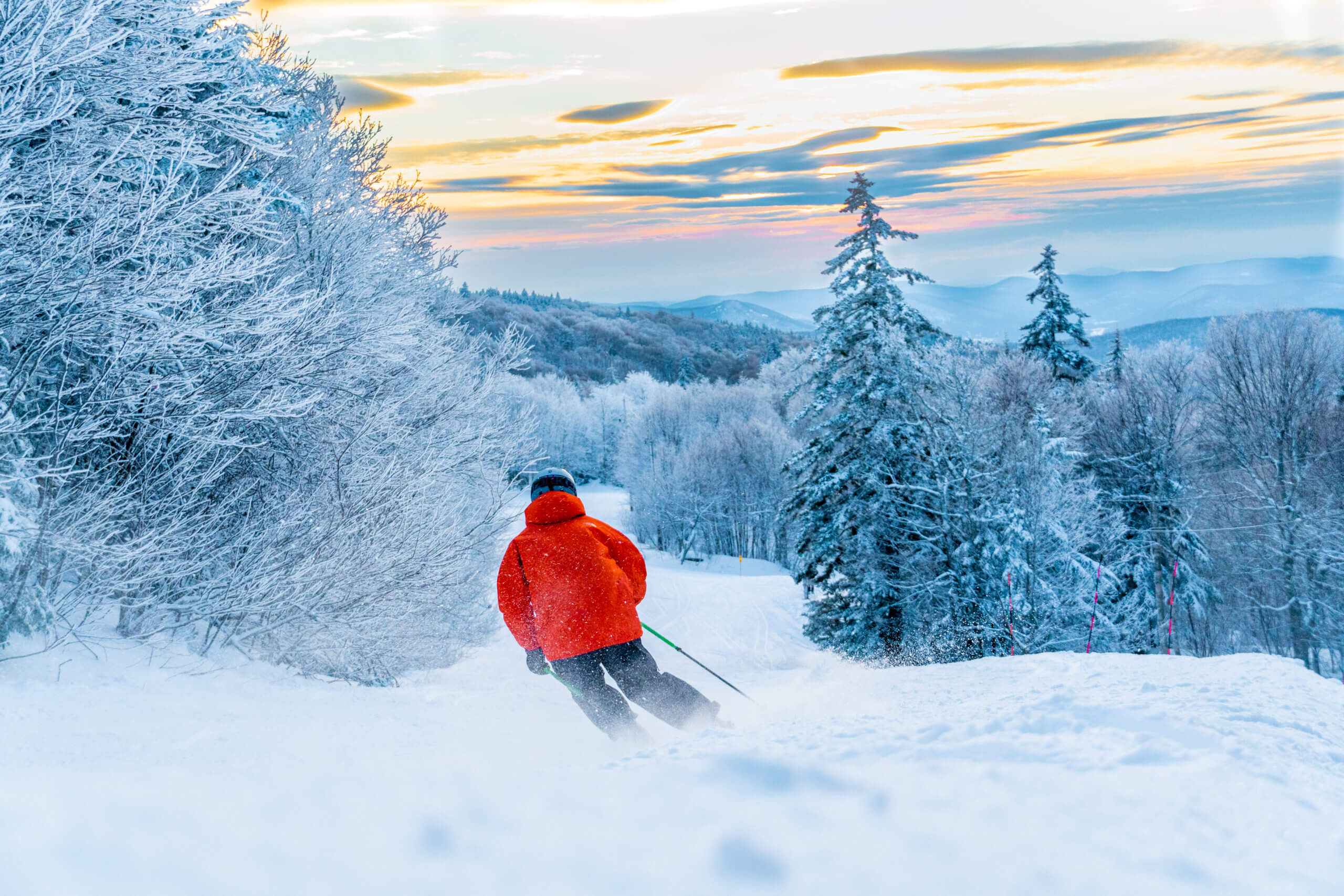 The Ride and Ski New England Card parties at Bolton Valley in Vermont
