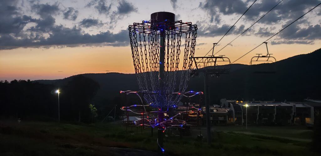 Friday Night Disc Golf at Bolton Valley Under The Lights