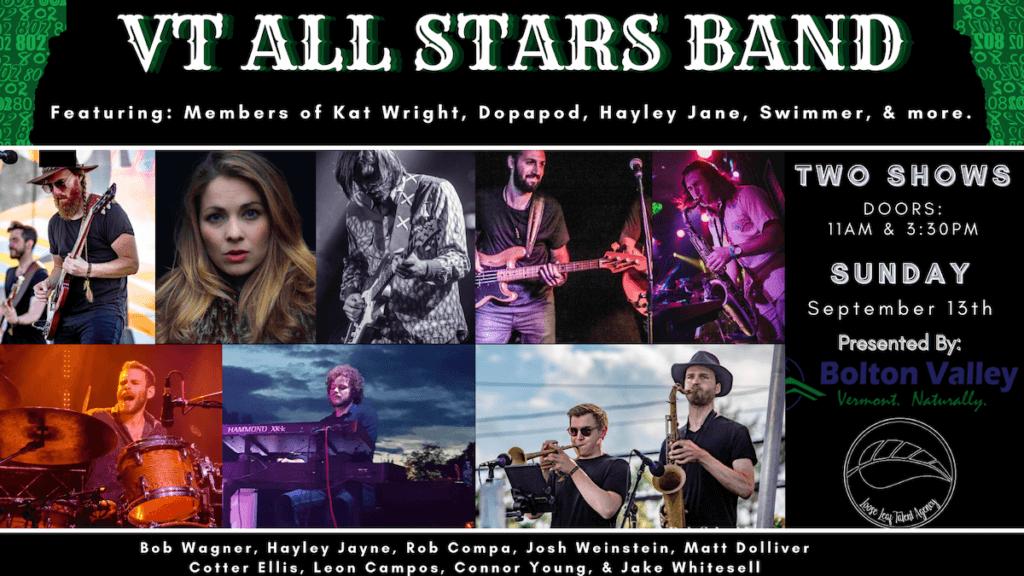 VT All Stars Band Poster