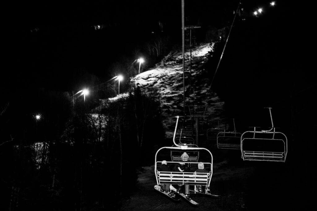 Night Skiing & Riding at Bolton Valley